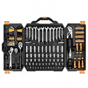 Deals List: DEKOPRO 192 Piece Mechanics Tool Set Socket Wrench Set,Auto Repair Hand Tool Kit Wrench Tool Box Set with Plastic Storage Case