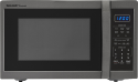 Deals List: Sharp - Carousel 1.4 Cu. Ft. Mid-Size Microwave - Black stainless steel, SMC1452CH