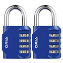 Deals List: 2-Pack Oria 4 Digit Combination Padlock O52118