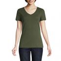 Deals List: 5-Pack St. Johns Bay-Womens V Neck Short Sleeve T-Shirt