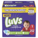 Deals List: Luvs Ultra Leakguards Diapers 252 ct. (8-14 lb.)