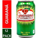 Deals List: Guarana Antarctica, Guaraná Flavoured Soft Drink, Made from Amazon Rainforest Fruit, Imported from Brazil, 350ml, (Pack of 12)