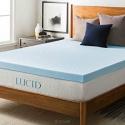 Deals List: LUCID 3-inch Gel Memory Foam Mattress Topper - Queen