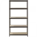 "Deals List: Muscle Rack 5-Shelf Steel Shelving, Silver-Vein, 12"" D x 30"" W x 60"" H"