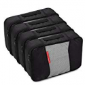Deals List: 4 Medium Packing Cubes Travel Luggage Organizers