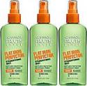 Deals List: Garnier Fructis Style Flat Iron Perfector Hair Straightening Mist, 6 Ounce Bottle, 3 Count