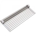 Deals List: Surpahs Over the Sink Multipurpose Roll-Up Dish Drying Rack
