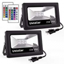 Deals List: 2-Pack Ustellar 15W RGB LED Flood Lights