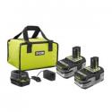 Deals List: Ryobi 18-Volt ONE+ Li-Ion+ Battery Starter Kit + Free Bare-Tool