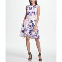 Deals List: DKNY Floral Print Fit & Flare Dress