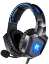 Deals List: RUNMUS Stereo Gaming Headset for PS4, Xbox One, Nintendo Switch, PC, PS3, Mac, Laptop, Over Ear Headphones PS4 Headset Xbox One Headset with Surround Sound, LED Light & Noise Canceling Microphone