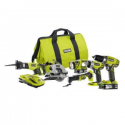 Deals List: Ryobi P884 ONE+ 18-Volt Li-Ion Ultimate Combo Kit (6-Tool)