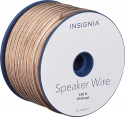 Deals List: Insignia™ - 100' Speaker Wire - Clear, NS-HS00501