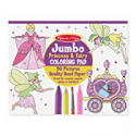 Deals List: Melissa & Doug Princess & Fairy Jumbo Coloring Pad
