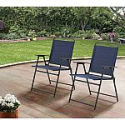 Deals List: Mainstays Pleasant Grove Sling Folding Chair, Set of 2