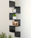 Deals List: Greenco 5-Tier Wall Mount Corner Shelves (Espresso Finish)