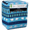 Deals List: King Size Cotton Flannel Sheet Set, Seasonal animal