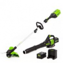 Deals List: Greenworks Pro GW 60-V String Trimmer Blower Kit w/Battery