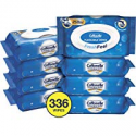 Deals List: Cottonelle FreshCare Flushable Wet Wipes for Adults, Alcohol Free, 336 Wipes per Pack (Eight 42-Count Flip-Top Packs)