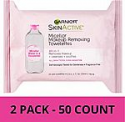 Deals List: Garnier SkinActive Micellar Makeup Remover Wipes, 25 Count (Pack of 2)  b