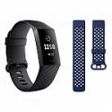 Deals List: Fitbit Charge 3 Activity Tracker Bundle, Graphite