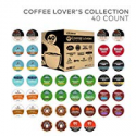 Deals List: Keurig Coffee Lovers' Collection Sampler Pack, Single Serve K-Cup Pods, Compatible with all Keurig 1.0/Classic, 2.0 and K-Café Coffee Makers, Variety Pack, 40 Count