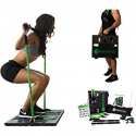 Deals List: BodyBoss Home Gym 2.0 - Full Portable Gym Home Workout Package + 1 Set of Resistance Bands - Collapsible Resistance Bar, Handles - Full Body Workouts for Home, Travel or Outside