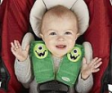 Deals List: Nuby Car Seat StrapCovers 2 Pack, Green Monster