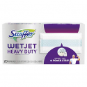 Deals List: Swiffer Wetjet Heavy Duty Mop Pad Refills for Floor Mopping and Cleaning, All Purpose Multi Surface Floor Cleaning Product, 20 Count