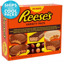 Deals List: REESE'S Chocolate Peanut Butter Candy Variety Pack, 30 Count