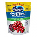 Deals List: Ocean Spray Craisins Dried Cranberries, Reduced Sugar, 20 Ounce Value Pack