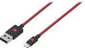 Deals List: Modal™ - Apple MFi Certified 4' Lightning USB Charging Cable - Black/Red, MD-MA5BR2