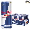 Deals List: Red Bull Energy Drink 8.4 Fl Oz, 24 Pack (6 Packs of 4)