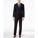 Deals List: Tommy Hilfiger Mens Modern-Fit THFlex Stretch Navy Twill Suit
