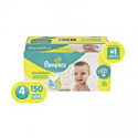 Deals List: Diapers Size 4, 150 Count - Pampers Swaddlers Disposable Baby Diapers, ONE MONTH SUPPLY