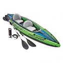 Deals List: Intex Challenger K2 Kayak, 2-Person Inflatable Kayak Set with Aluminum Oars and High Output Air Pump