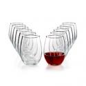 Deals List: 12-Pc. Martha Stewart Essentials Stemless Wine Glasses Set