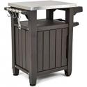 Deals List: Keter Corfu Coffee Table Modern All Weather Outdoor Patio Garden Backyard Furniture, Brown