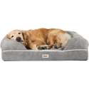 """Deals List: Friends Forever Orthopedic Dog Bed Lounge Sofa Removable Cover 100% Suede 4"""" Mattress Memory-Foam Premium Prestige Edition"""