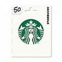 Deals List: $50 Starbucks Gift Card