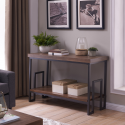 Deals List: Better Homes & Gardens Elliot Rectangular Console Table (Natural Wooden Finish, BH18-084-099-77)