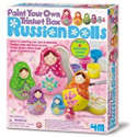Deals List: 4M Paint Your Own Trinket Box Russian Doll Kit