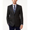 Deals List: Michael Kors Men's Classic-Fit Gray/Blue Plaid Sport Coat