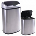 Deals List: BestOffice 13 and 2.4 Gallon Automatic Stainless-steel Trash Can