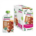 Deals List: Sprout Organic Stage 2 Baby Food Pouches, Sweet Potato White Bean w/ Cinnamon, 4 Ounce (Pack of 5)