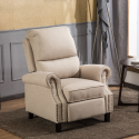 Deals List: Mcombo Manual Recliner Roll Arm Push Back Recliner Chair
