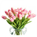 Deals List: Packozy 20 pcs PU 13.3-inch Real-Touch Artificial Tulip Flowers