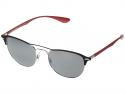 Deals List:  Ray-Ban RB3596 Lightforce Sunglasses (Black Frame/Grey Gradient Lenses, RB3596-909188-54)