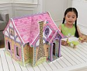Deals List: KidKraft Wooden Enchanted Forest Dollhouse with 16-Piece Accessories for 5-Inch Dolls