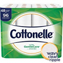 Deals List: Cottonelle Ultra GentleCare Toilet Paper, Aloe & Vitamin E, 48 Double Rolls